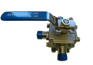 BW OD 3 Way T-Port Ball Valve