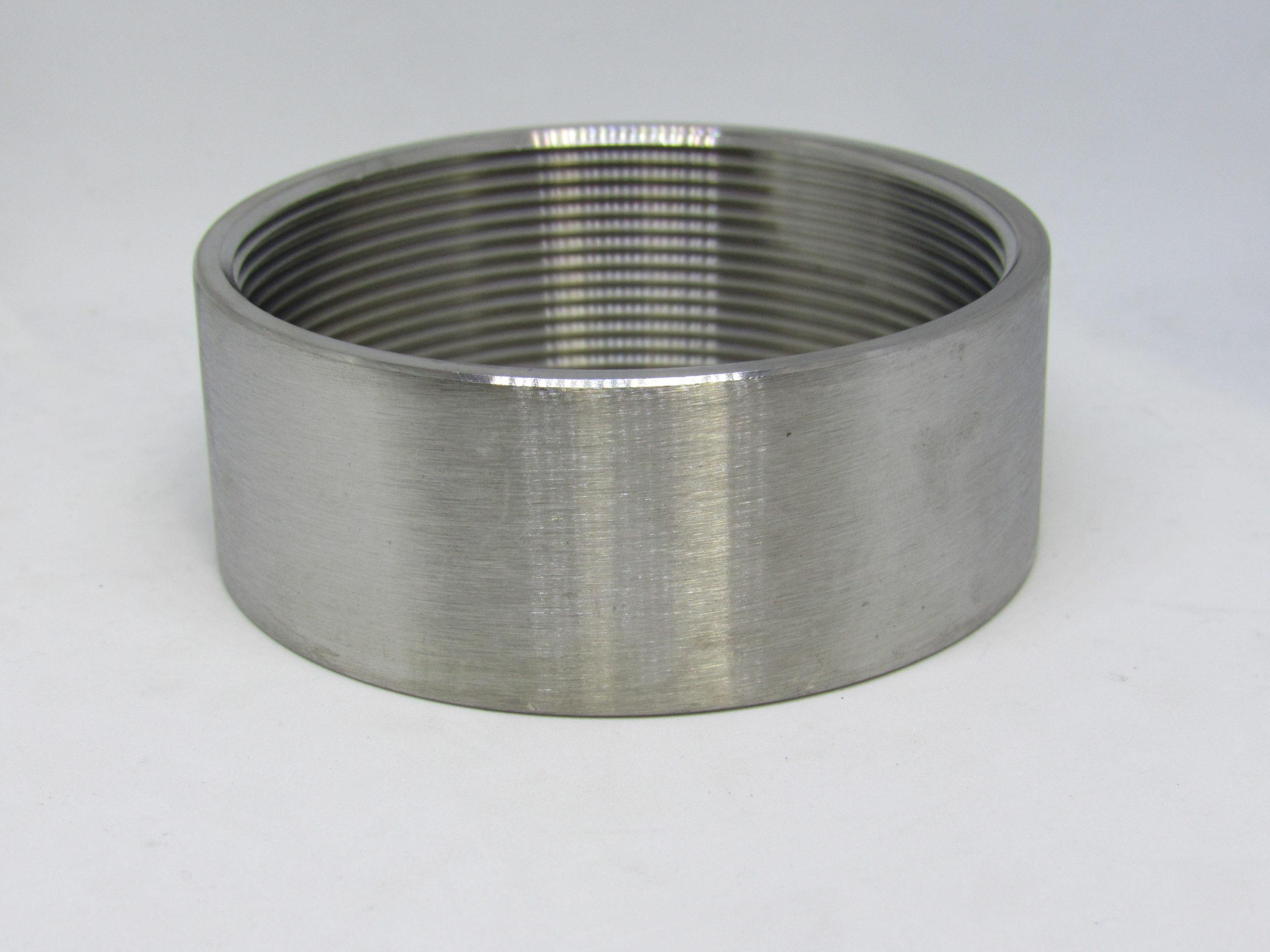 "1-1//2/"" BSP Half Socket 316 Stainless Steel 150LB Pipe Fitting"